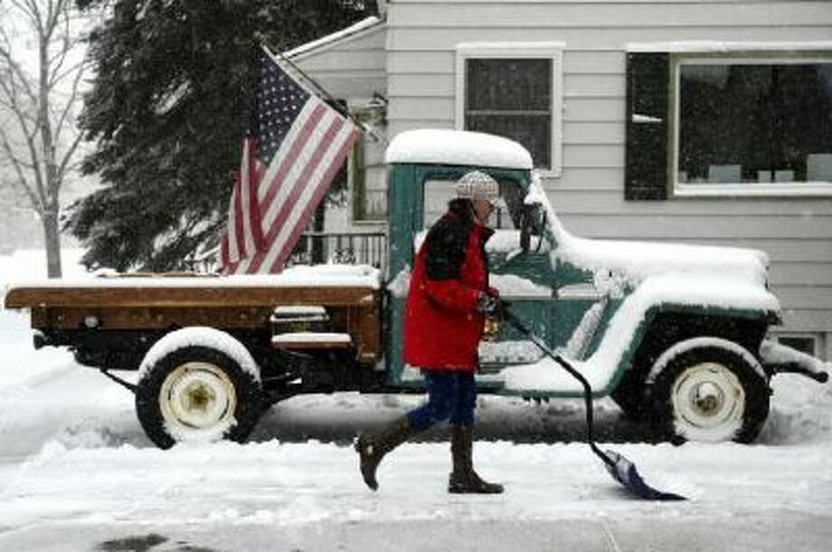 Winter weather often hits at the most inconvenient time. And even if your wheels - like the 1962 Willys truck at Nikki Maloney's home on Monroe in south Denver - is an antique, your snow shovel shouldn't be.