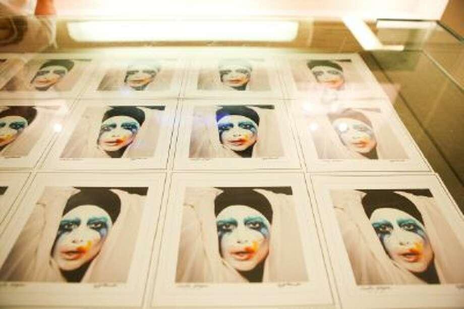 A general view of Lady Gaga's Artpop gallery during Artpop Pop Up: A Lady Gaga Gallery on November 11, 2013 in New York City. Photo: WireImage / 2013 Bennett Raglin