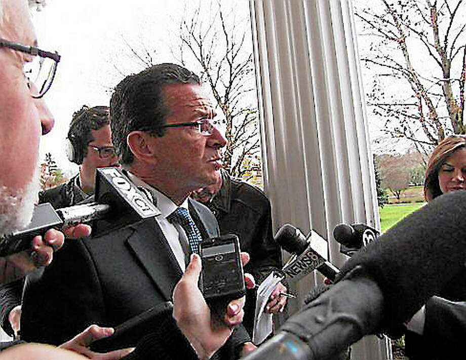 Gov. Dannel Malloy. Hugh McQuaid/CT NewsJunkie Photo: Journal Register Co.