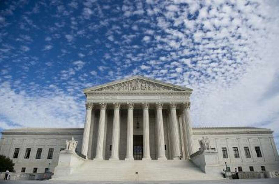 The U.S. Supreme Court building in Washington, D.C. Some people don't want their cases heard here. Photo: AFP/Getty Images / 2013 AFP