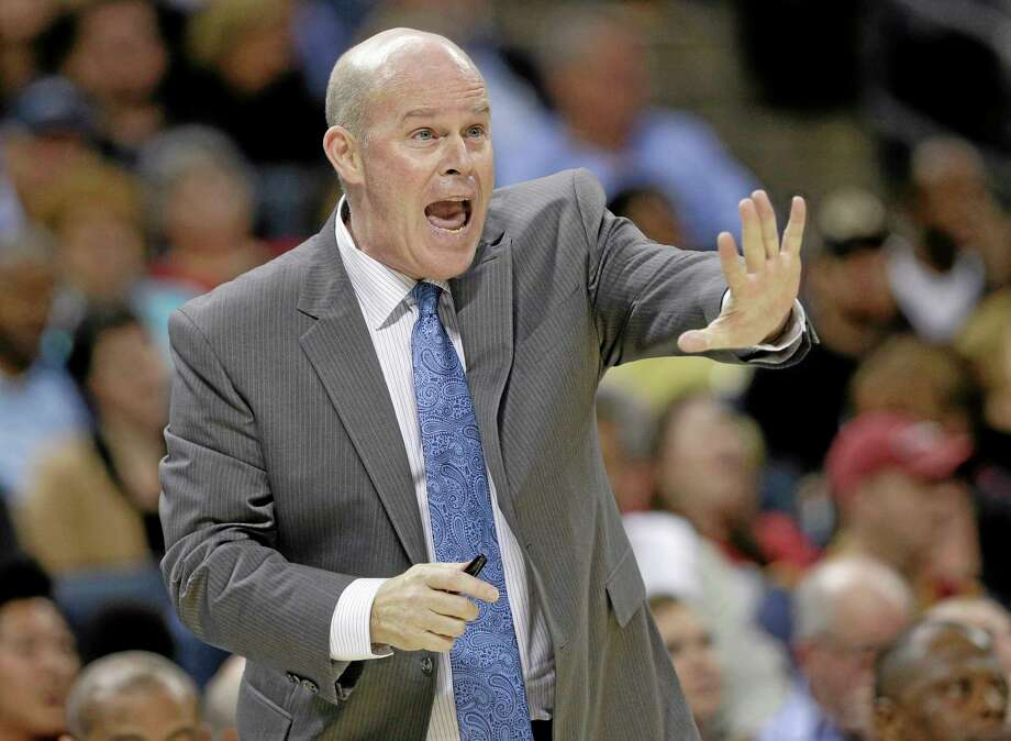 Charlotte Bobcats head coach Steve Clifford remains hospitalized Friday after being admitted late Thursday night. Photo: Chuck Burton — The Associated Press  / AP