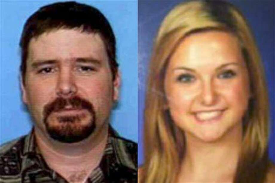 FILE - This combination of undated file photos provided by the San Diego Sheriff's Department shows James Lee DiMaggio, 40, left, and Hannah Anderson, 16. A massive search entered a seventh day Saturday, Aug. 10, 2013, for DiMaggio, suspected of abducting 16-year-old family friend Hannah. DiMaggio is suspected of killing Hannah's mother Christina Anderson, 44, and her 8-year-old brother Ethan Anderson, whose bodies were found Sunday night in DiMaggio's burning house in California near the Mexico border. (AP Photo/San Diego Sheriff's Department, File) Photo: AP / San Diego Sheriff's Department