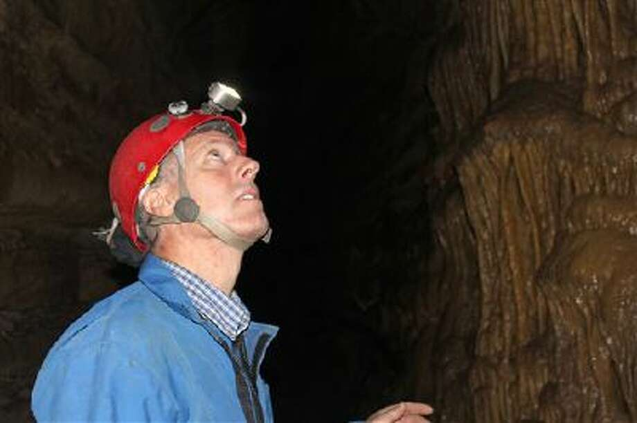n this Oct. 10, 2013, photo, John Ackerman talks about his Spring Valley Caverns in Spring Valley, Minn. Photo: AP / AP