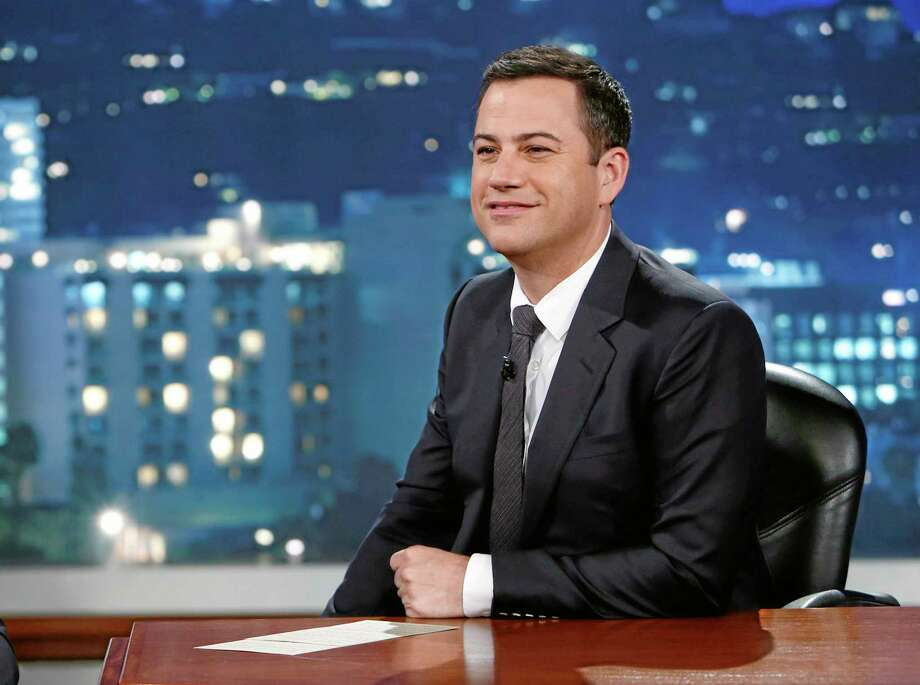 "This July 3 photo released by ABC shows Jimmy Kimmel on ""Jimmy Kimmel Live."" ABC is apologizing for a segment of ""Jimmy Kimmel Live"" in which a child joked about killing Chinese to help erase the U.S. debt. The boy's unscripted comment came during a comedy bit in which youngsters commented on news events. ABC's apology came in response to a complaint from a group called 80-20, which identifies itself as a pan Asian-American political organization. (AP Photo/ABC, Randy Holmes, File) Photo: AP / ABC"