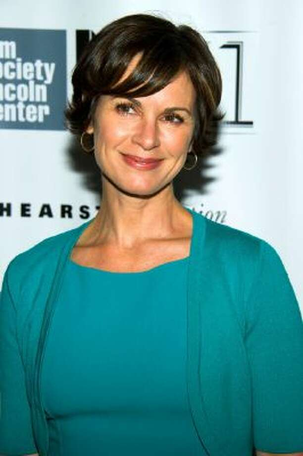 "This Oct. 8, 2013 photo shows ABC News anchor Elizabeth Vargas at the New York Film Festival premiere of ""All Is Lost"" in New York."