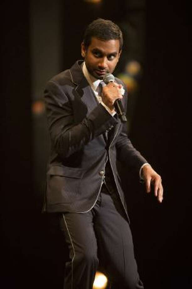 """Aziz Ansari: Buried Alive"" shows the actor and comedian in strong form. Illustrates VIDEO-AZIZ-ADV08 (category e), by Michael O'Sullivan (c) 2013, The Washington Post. Moved Wednesday, Nov. 6, 2013."
