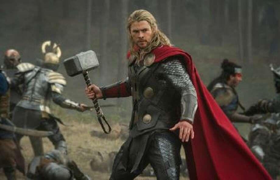 Thor (Chris Hemsworth) in 'Marvel's Thor: The Dark World.'