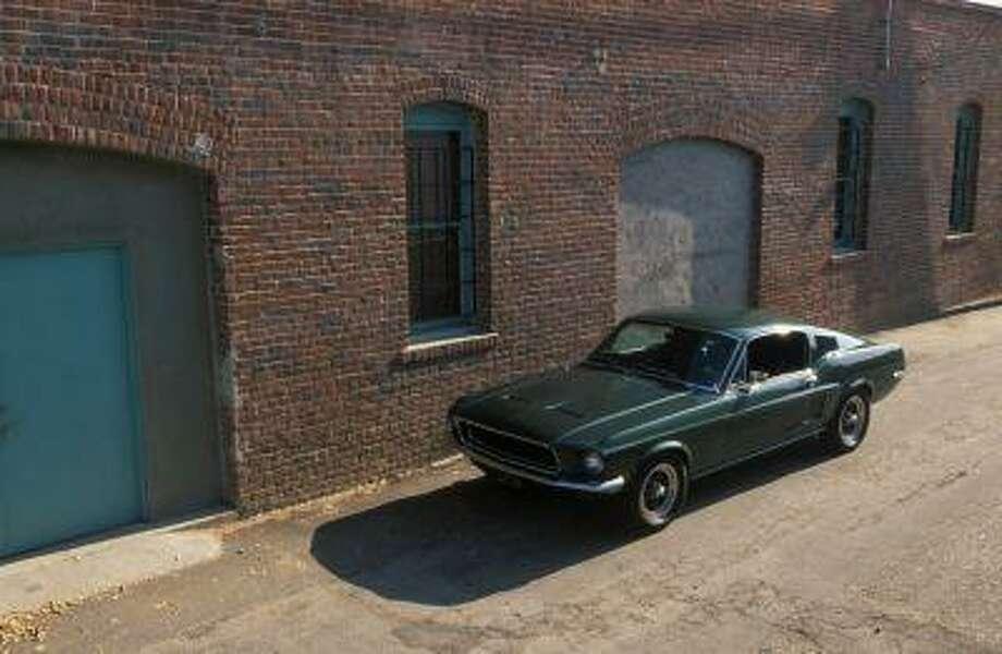 The 1968 Highland Green V8 Mustang GT 390 Fastback imortalized by Steve McQueen in the film 'Bullitt.'