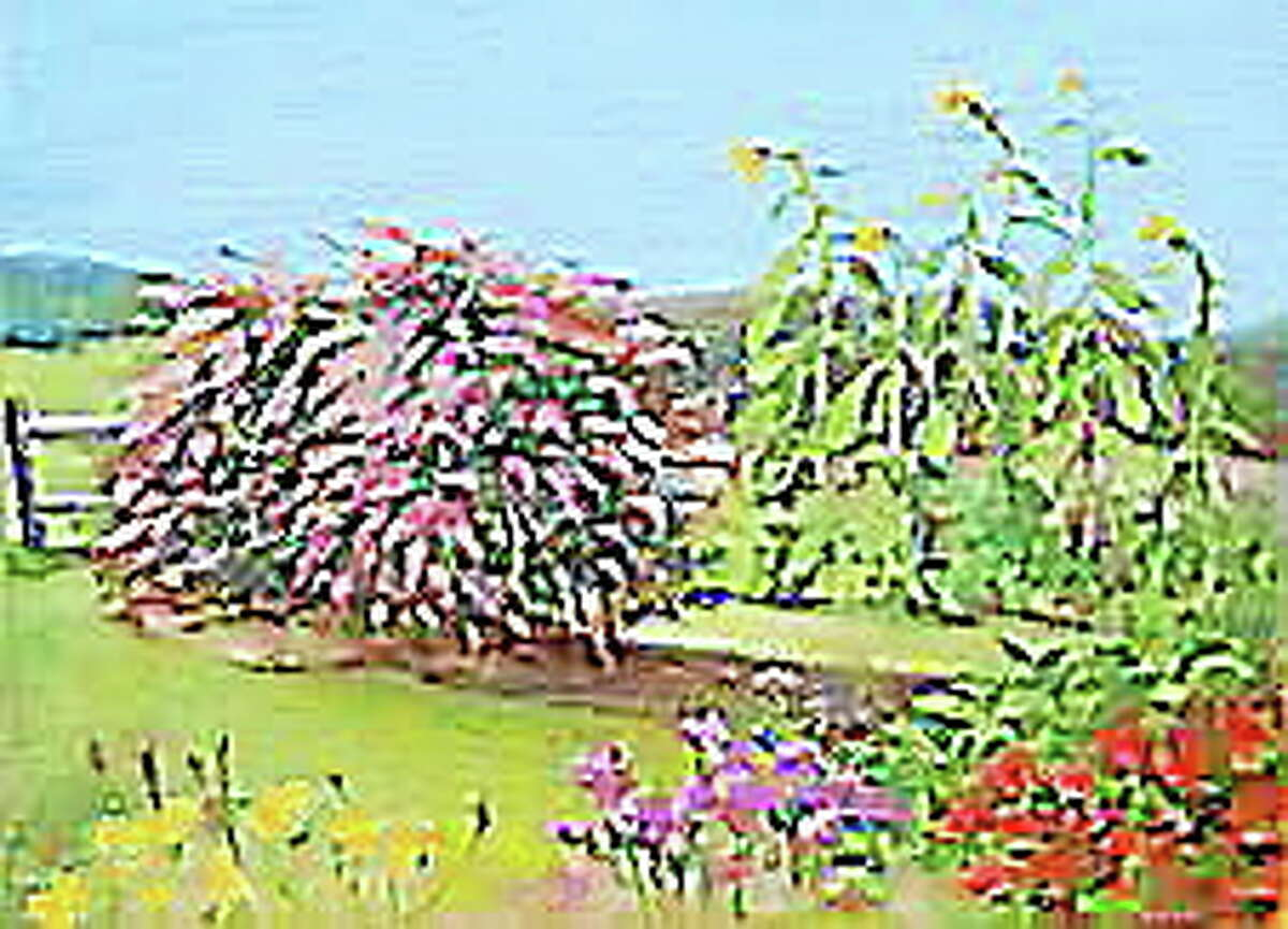 The Butterfly Bush, by Marge Casey