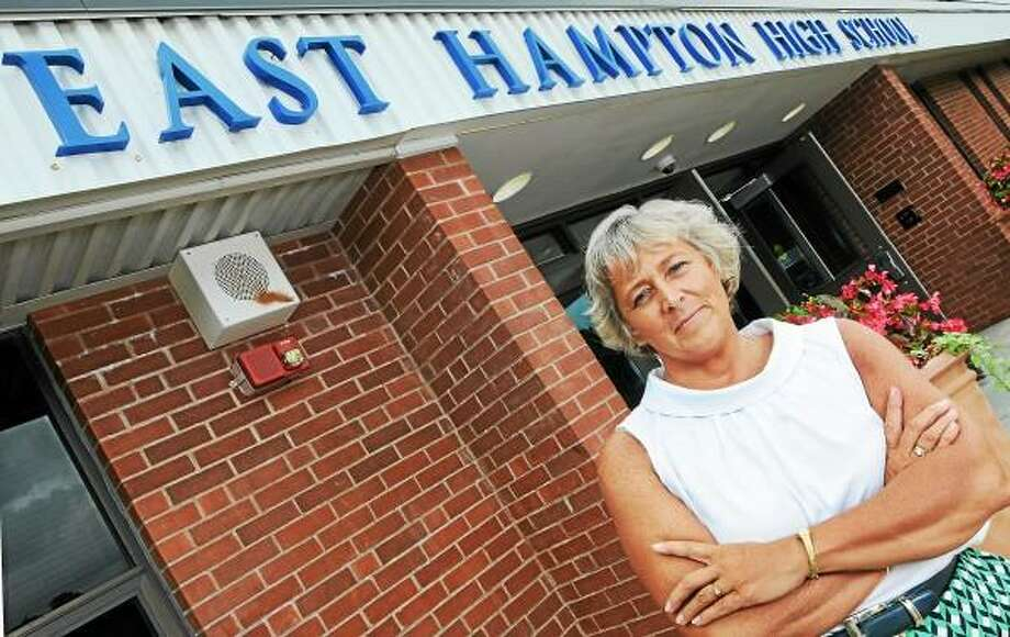 Granby resident Diane Dugas began July 1 as the new superintendent of East Hampton Public Schools. Catherine Avalone - The Middletown Press / TheMiddletownPress
