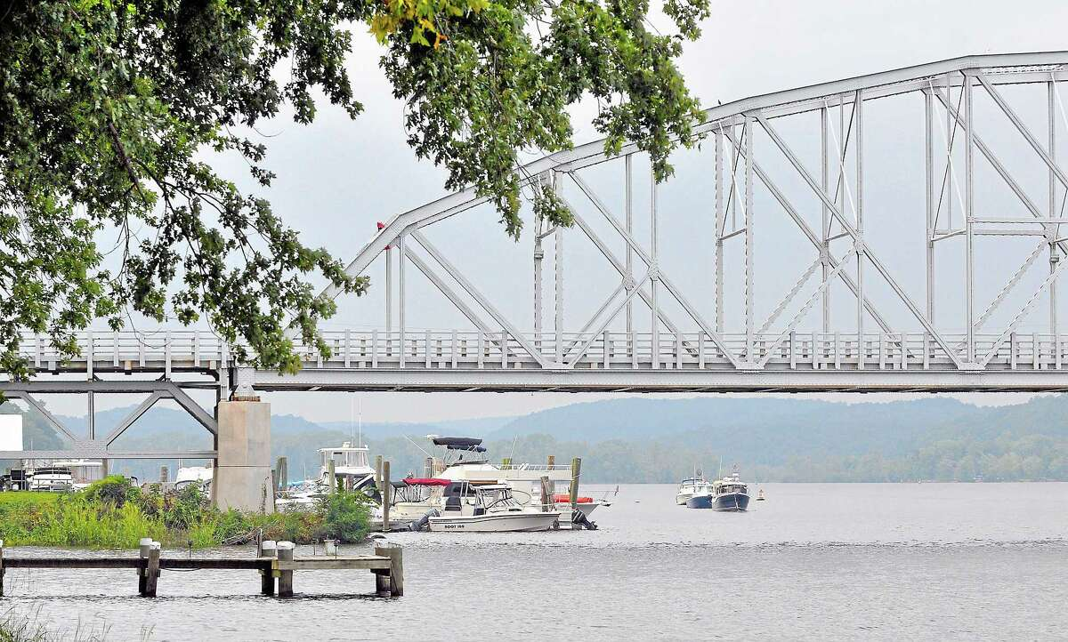 """""""Swing Bridge,"""" spanning the Connecticut River between Haddam and East Haddam. Catherine Avalone — The Middletown Press"""