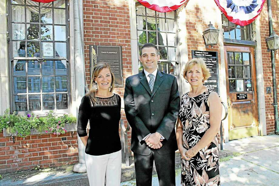 From left, Johanna Bond, Jeff Pugliese and Nancy Prue. (Submitted photo) Photo: Journal Register Co.