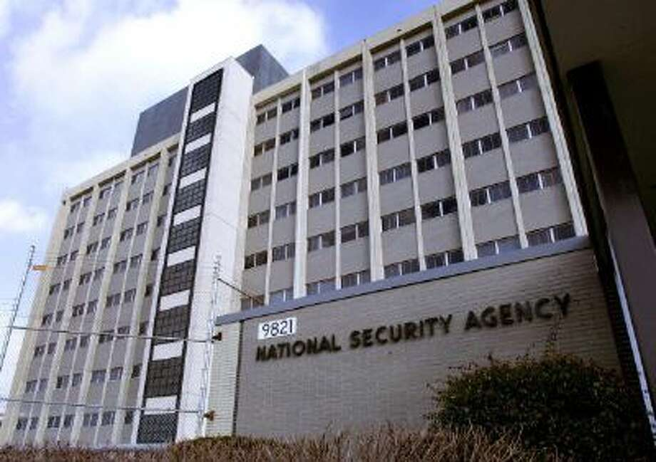 This 25 January 2006 file photo shows the National Security Agency (NSA) in the Washington suburb of Fort Meade, Maryland, where US President George W. Bush delivered a speech behind closed doors and met with employees in advance of Senate hearings on the much-criticized domestic surveillance. Photo: AFP/Getty Images / 2006 AFP