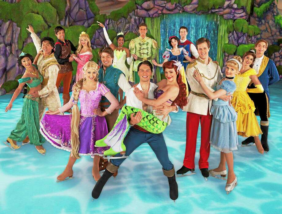 Submitted photo courtesy of Disney on Ice Disney on Ice's Princesses and Heroes show is coming to the Webster Bank Arena in Bridgeport and the XL Center in Hartford beginning Jan. 2. Photo: Journal Register Co. / (C)2011 Feld Entertainment Inc.. Please contact Photorequests@feldinc.com for usage