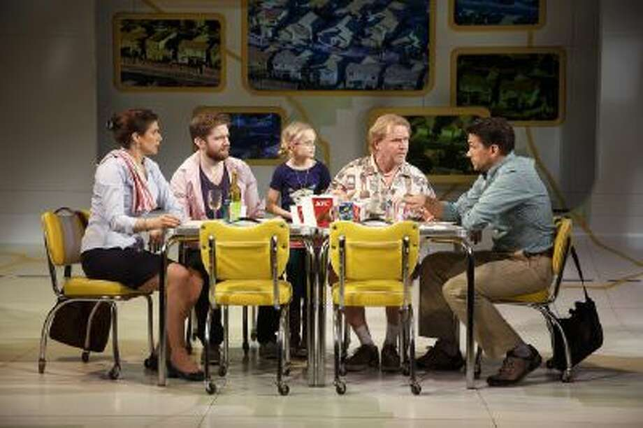 """Popular films """"Big Fish,"""" """"Far From Heaven"""" and """"Little Miss Sunshine"""" (shown here, at Second Stage Theatre) all lifted their newly musical voices lately in New York. Big musicals due on Broadway in 2014 include Disney's """"Aladdin"""" and """"The Bridges of Madison County."""""""