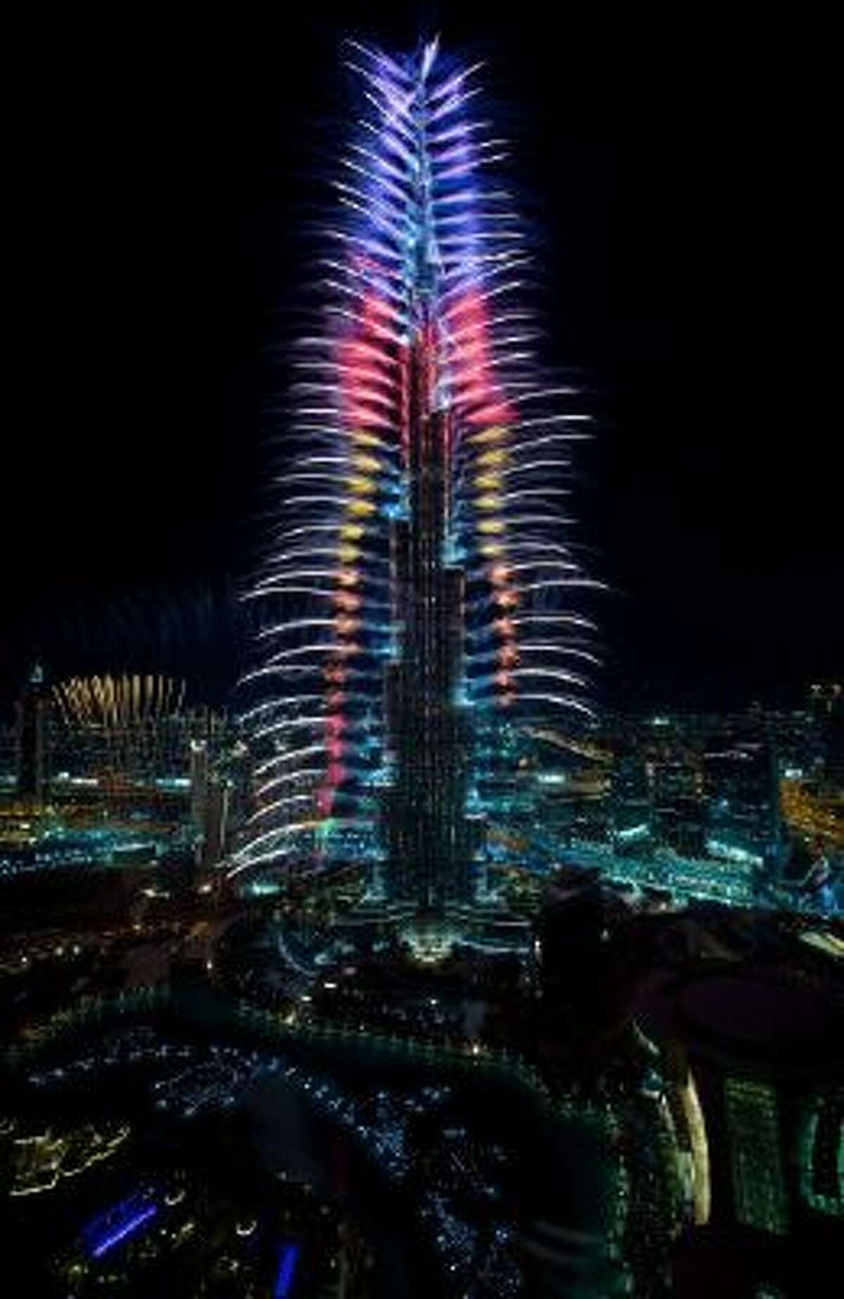 Dubai hopes to set a fireworks record with its New Year's show.