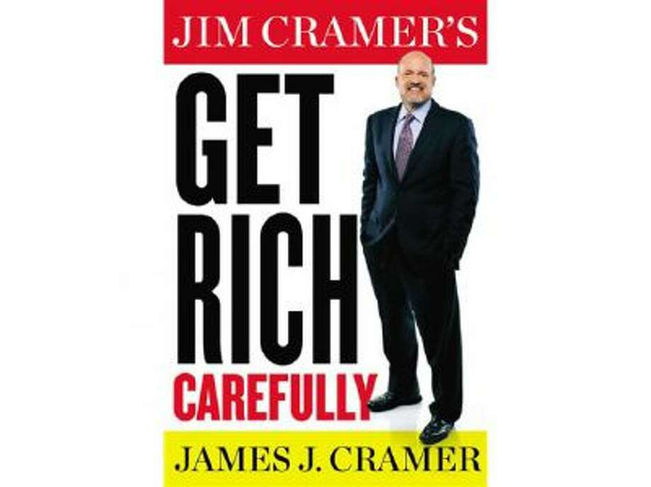 "This book cover image released by Blue Rider Press shows ""Get Rich Carefully,"" by James J. Cramer."