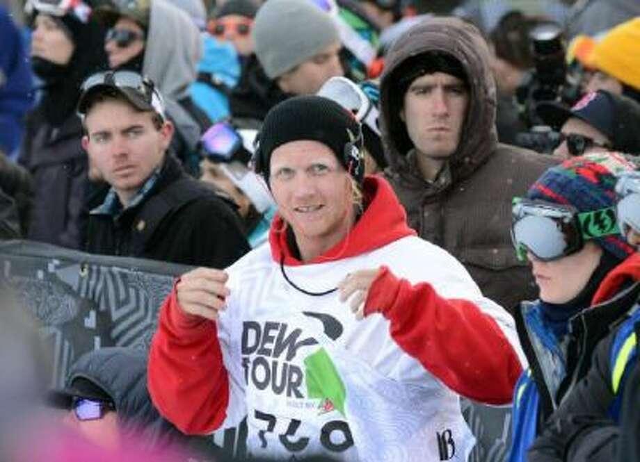 Men's Ski Super Pipe final of Dew Tour in Breckenridge on Friday. December 14, 2012.
