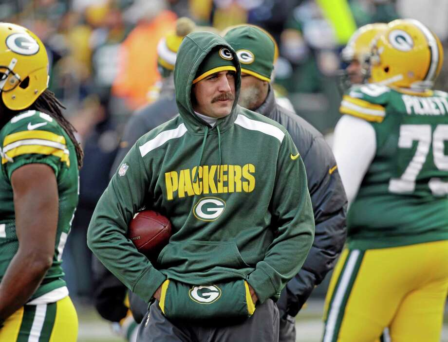 Dan Nowak believes Aaron Rodgers return will help spur the Packers to a win over the Bears today. Photo: Mike Roemer — The Associated Press  / FR155603 AP