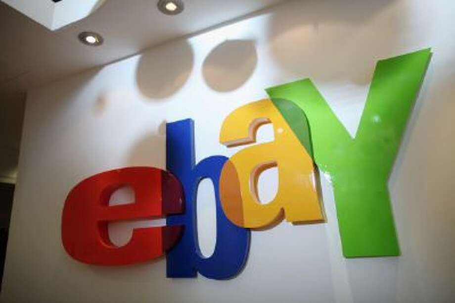 A general view of an eBay sign. Photo: Getty Images / 2011 Getty Images