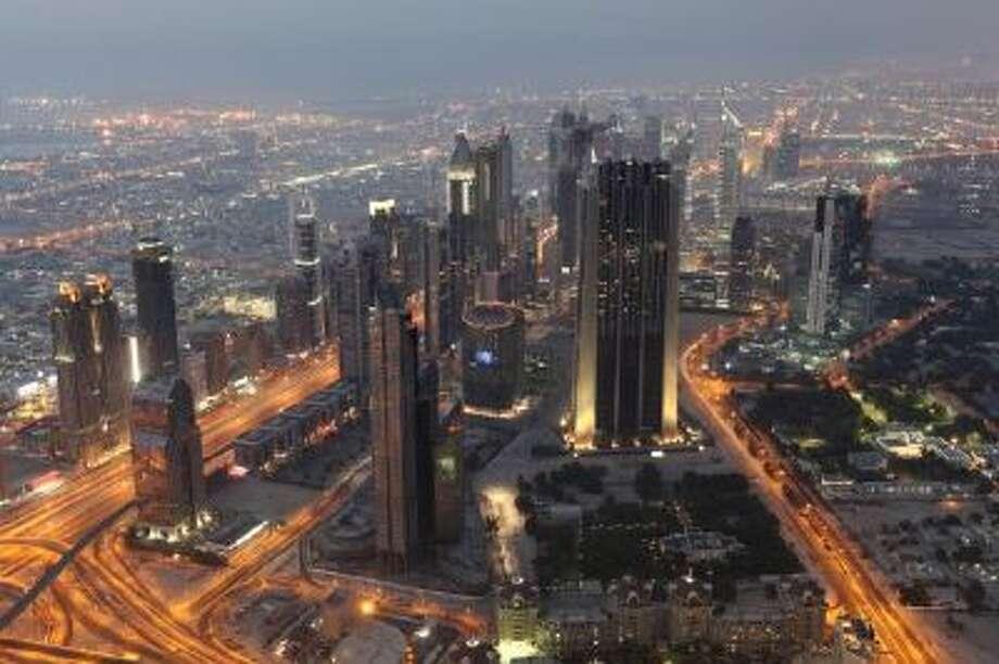 An image of Dubai skyline.