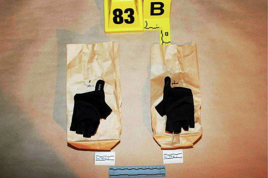 Photos of Adam Lanza's clothes at the time of the Sandy Hook Elementary School shootings as supplied by the Connecticut State Police. Photo: Contributed Photo