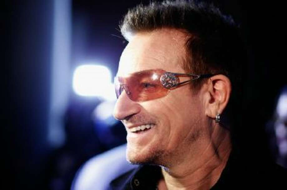 Bono in New York City on Feb. 7, 2013.