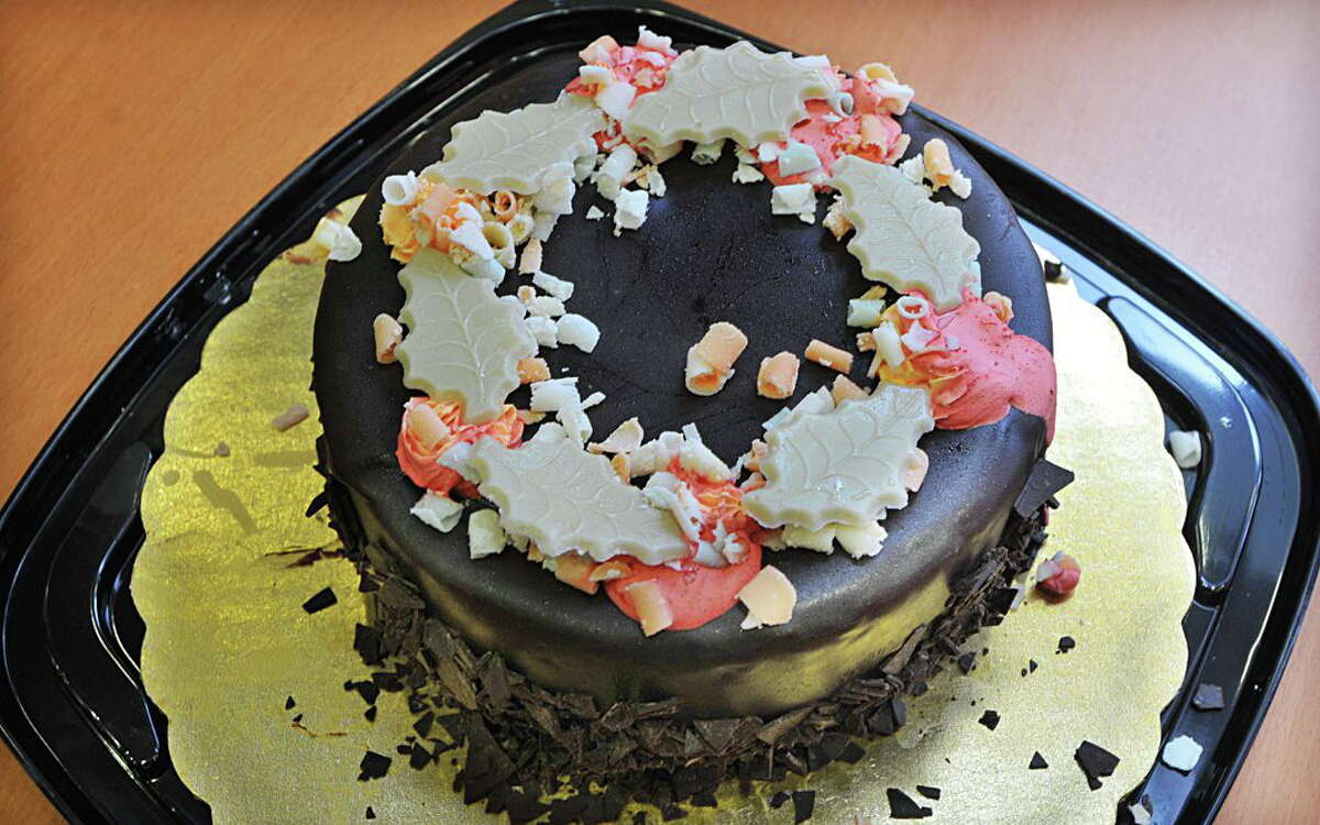 A Midnight Delight ice cream cake. Catherine Avalone - The Middletown Press