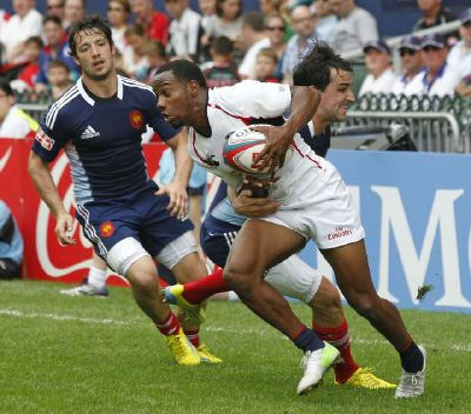 Carlin Isles, a member of the U.S. rugby team, was signed by the Detroit Lions to their practice squad Thursday.
