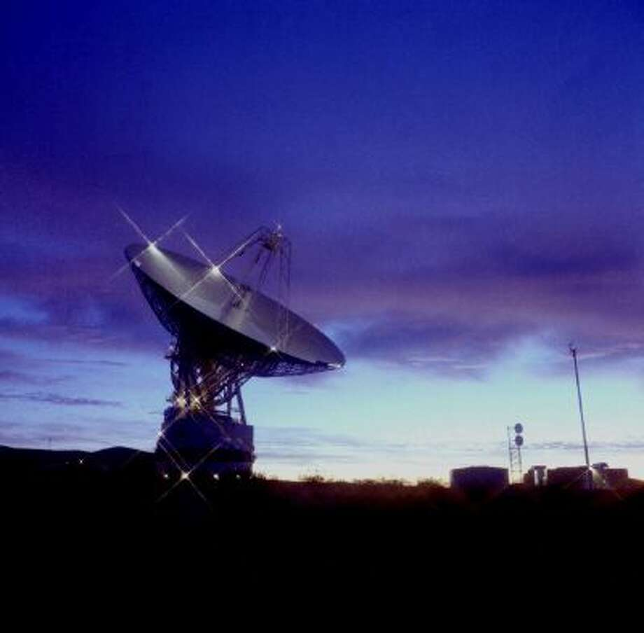 The NASA Deep Space Network is a network of antennas that supports interplanetary spacecraft missions and radar astronomy observations to explore the deeper universe. It turns 50 Christmas Eve. Photo: SSPL Via Getty Images / SSPL/NASA