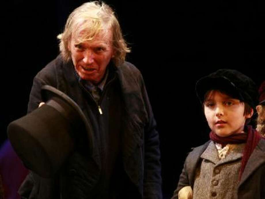 """Two British actors perform the classic """"A Christmas Carol,"""" which has been a holiday tradition for 170 years. Photo: WireImage / 2010 Chiaki Nozu"""