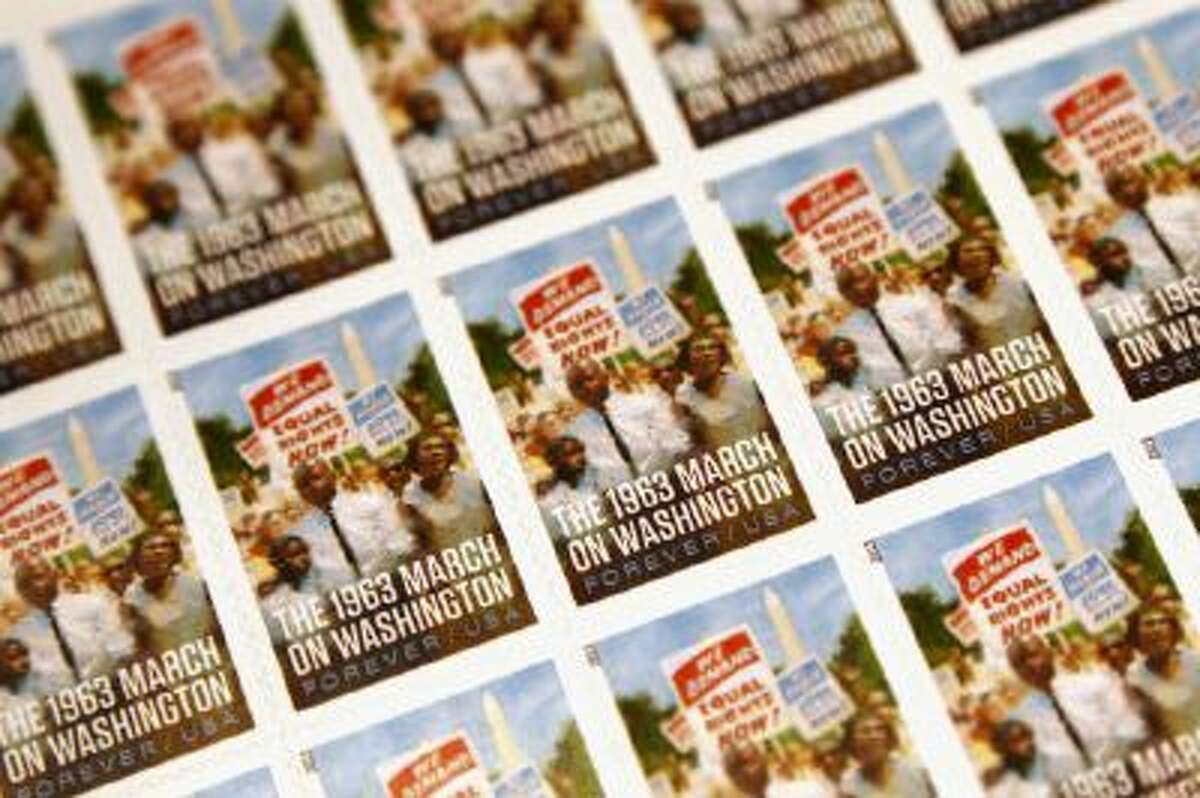 A sheet of forever stamps will cost more come Jan. 26.