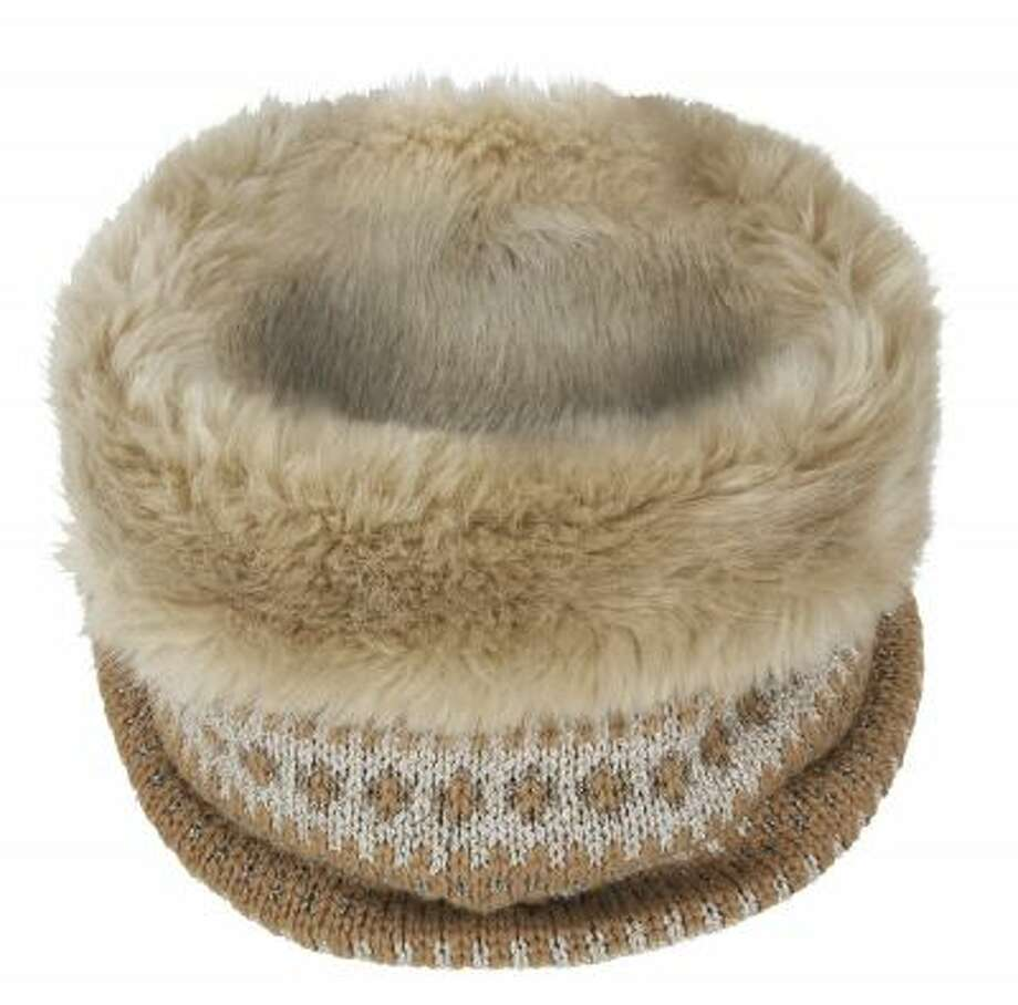 Banana Republic?s Fair Isle Faux-Fur Neckwarmer