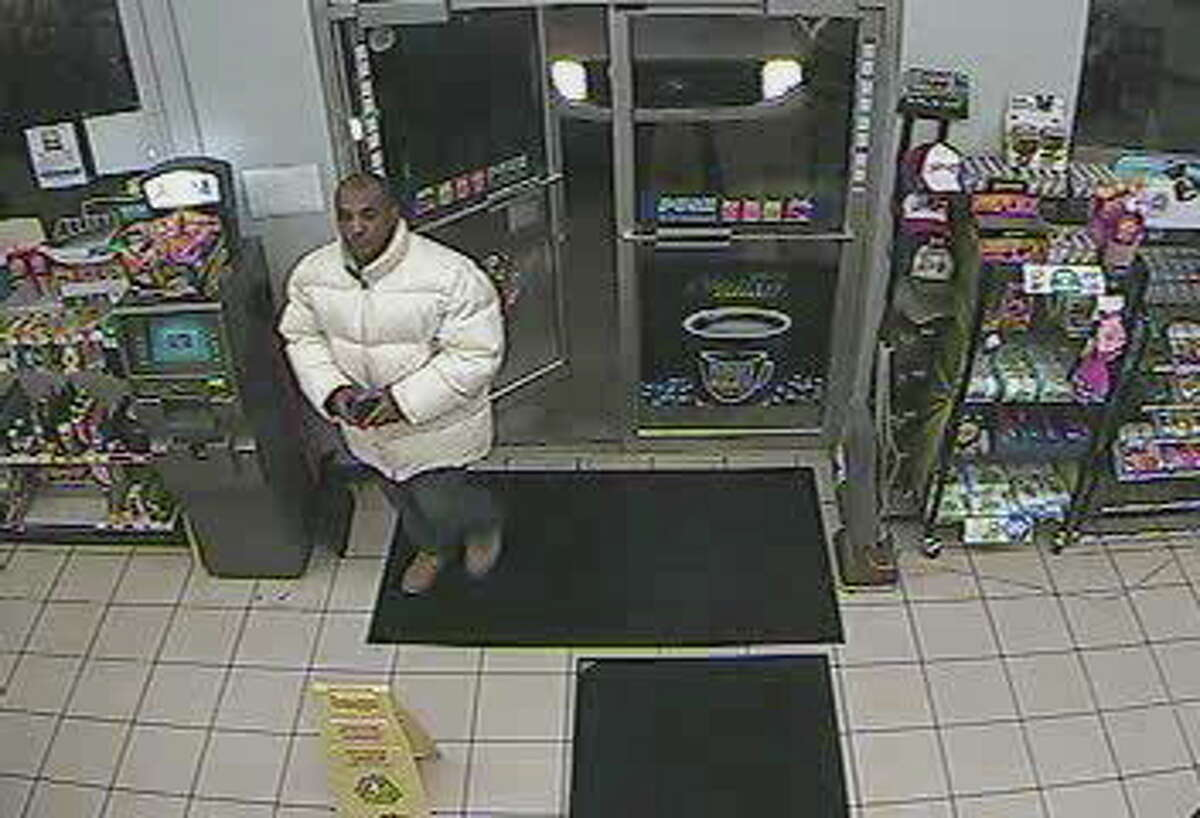State police are looking for this man in regards to a robbery at 4 a.m. Thursday at the Valero gas station on Main Street in Durham.