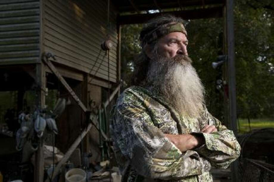 Phil Robertson in A&E's Duck Dynasty.