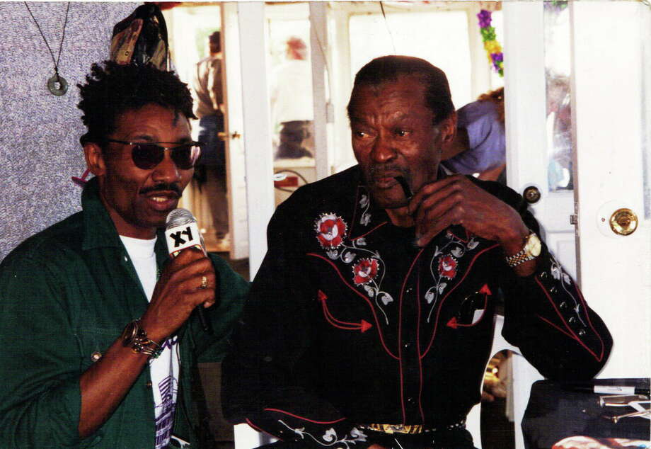 Photo: Contributed XY Eli Williams With Mr. Chuck Berry Himself.