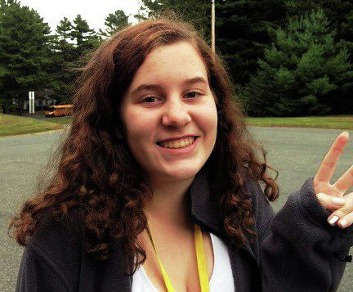 Lucy Laferriere, who wrote her boarding school admissions essay about Sandy Hook principal Dawn Hochsprung.