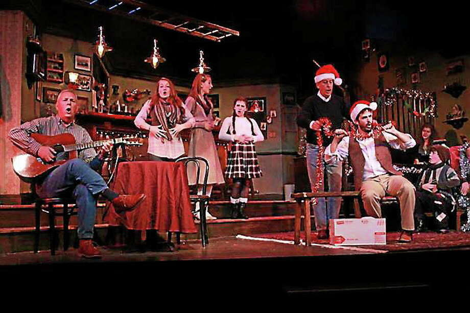 """Submitted photo - Ivoryton Playhouse A scene from """"The Bells of Dublin"""" which is being performed at the Ivoryton Playhouse. Photo: Journal Register Co."""