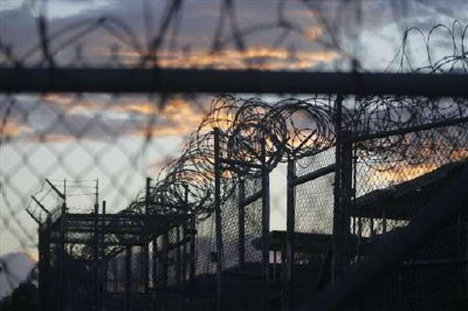 Part of the Guantanamo prison in Cuba. Photo: AP / AP