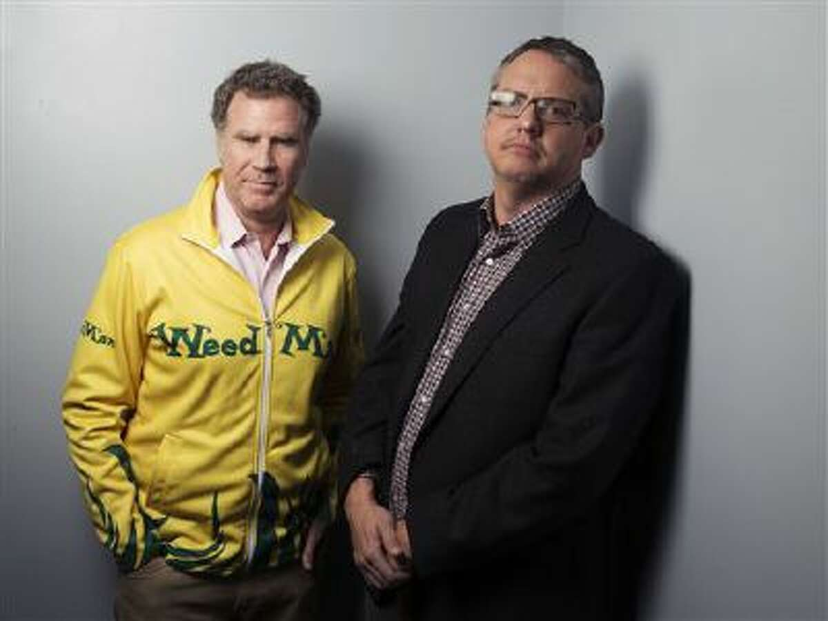 This Dec. 6, 2013 photo shows actor Will Ferrell, left, and director Adam McKay from the film