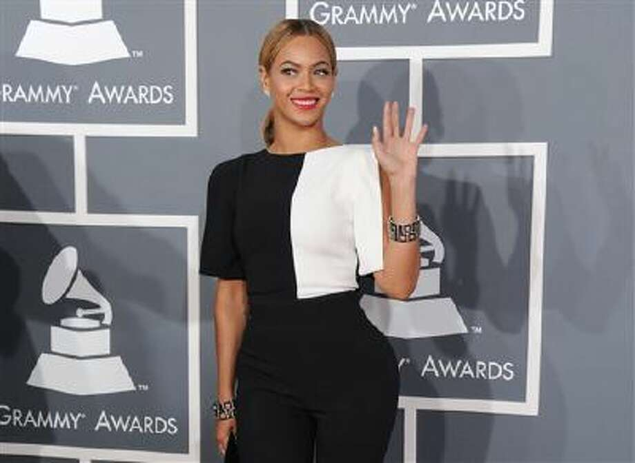 This Feb. 10, 2013 file photo shows Beyonce at the 55th annual Grammy Awards in Los Angeles. Photo: Jordan Strauss/Invision/AP / Invision