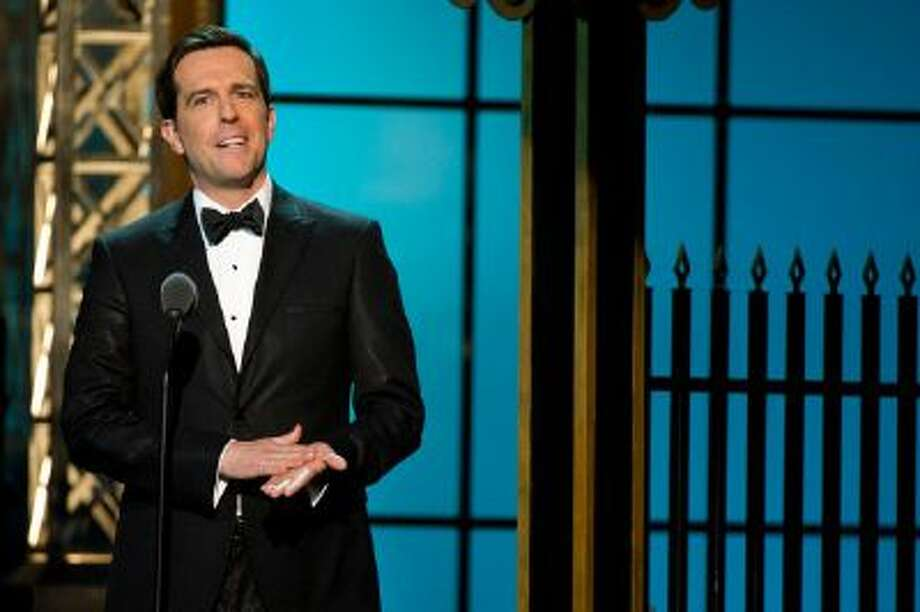 Ed Helms appears onstage at The 2012 Comedy Awards in New York, Saturday, April 28, 2012.