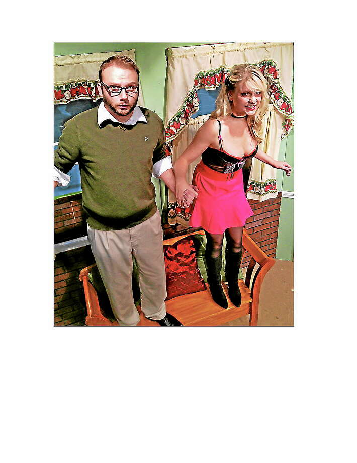 """Submitted photo - CT Cabaret Theatre Meagan Bomar and Chris Brooks are """"The Owl and the Pussycat."""" Photo: Journal Register Co."""