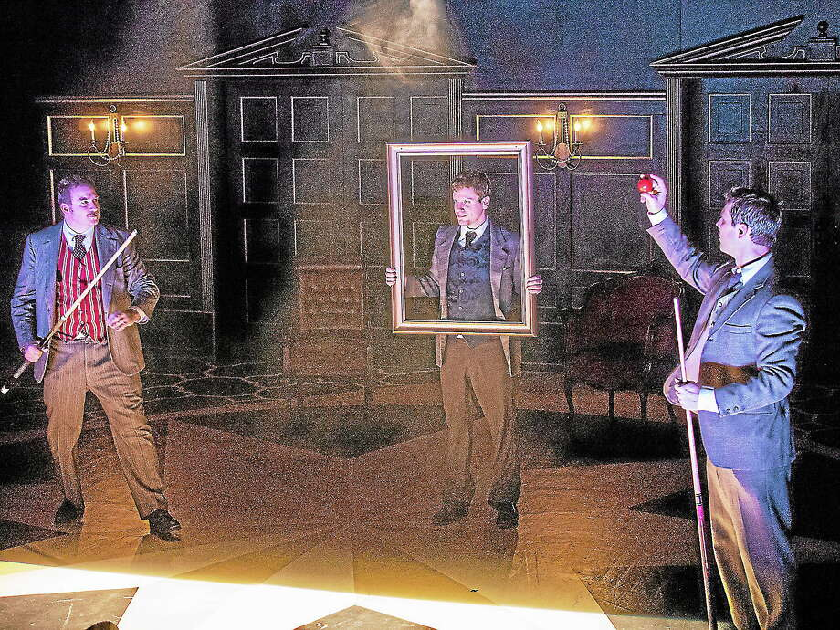 "Submitted photos - Playhouse on Park A scene from ""Hound of the Baskervilles"" at Playhouse on Park. Photo: Journal Register Co. / Imagine it Framed"
