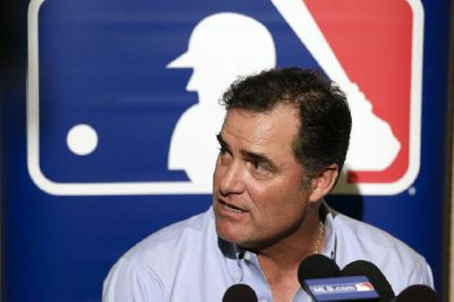 Boston Red Sox manager John Farrell talks to reporters about how nothing has happened yet.