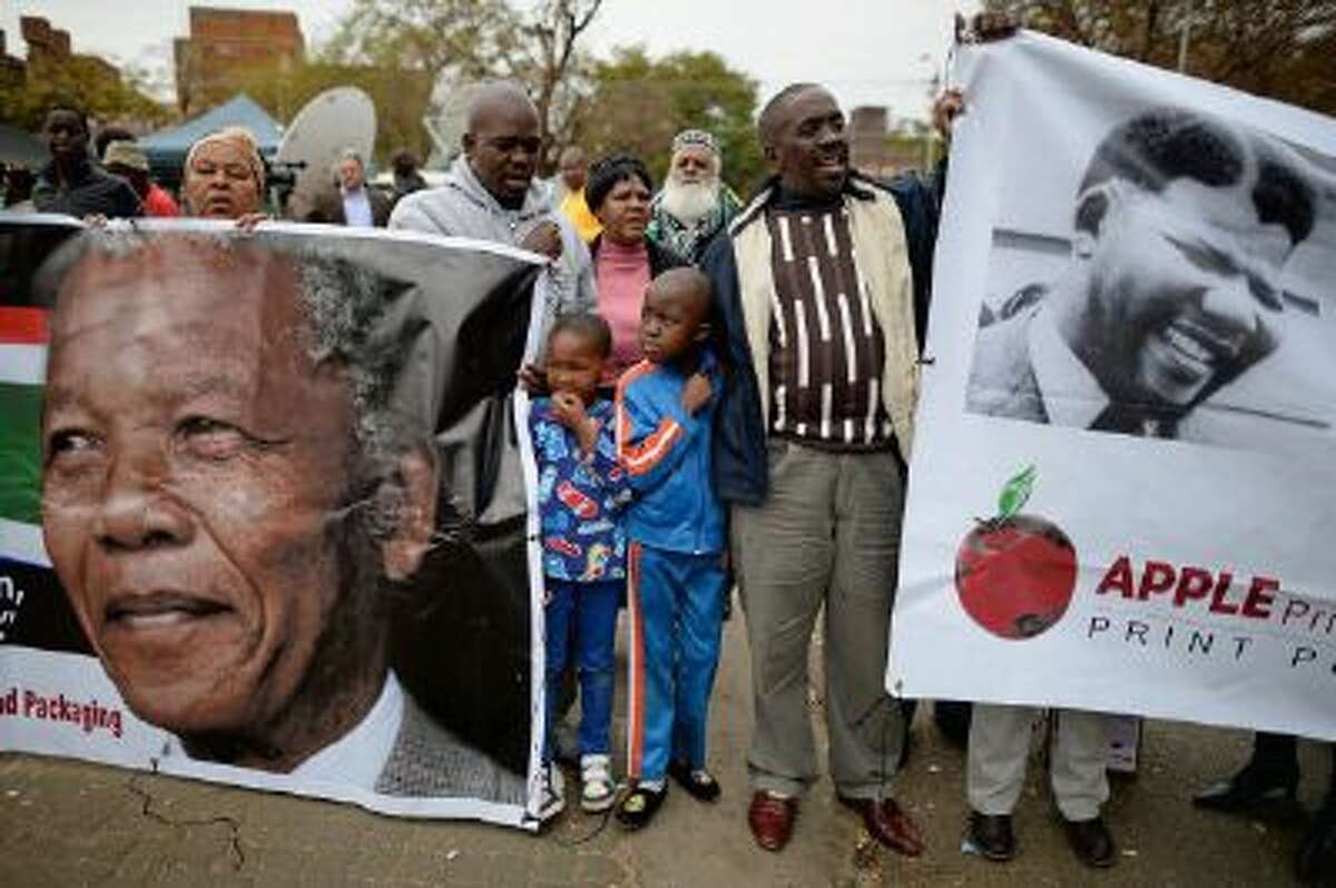 Many American leaders will join South Africans this week in celebrating Nelson Mandela's life.