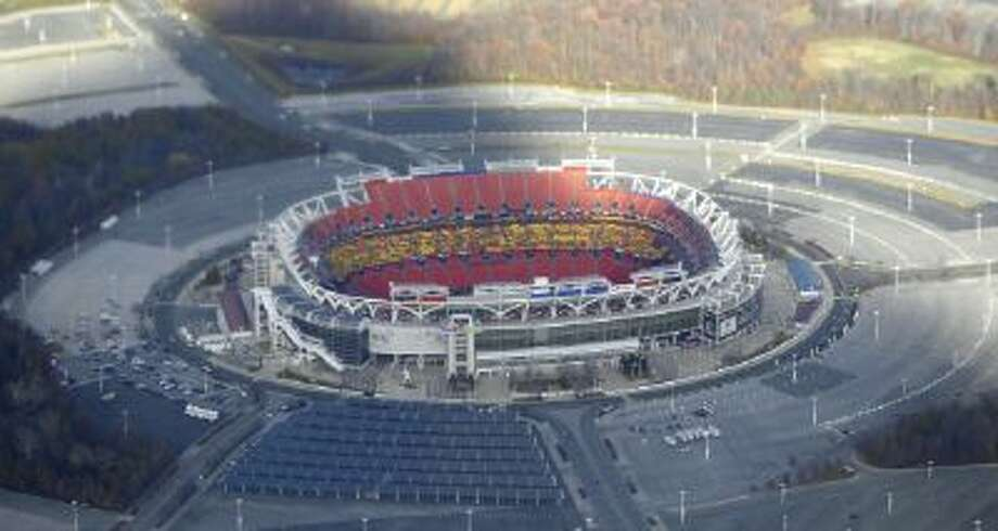 FedEx Field, as seen from Air Force One.