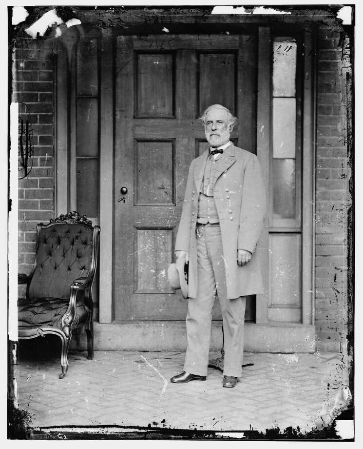 PHOTOS: Rarely seen, eerie images from the Civil WarIn this image from the U.S. Library of Congress, Confederate Gen. Robert E. Lee stands for a portrait April 16, 1865 in Richmond, Virginia. (Photo by Mathew Brady/U.S. Library of Congress via Getty Images) Photo: Mathew Brady/U.S. Library Of Congress Via Getty Images