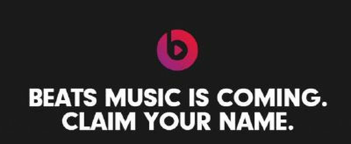 Logo for upcoming digital music service Beat Music.