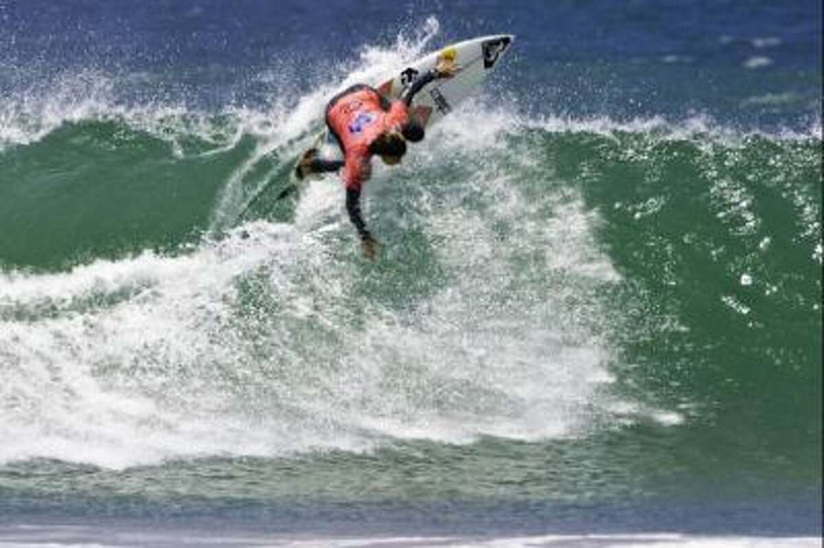Surfers are fond of the waves they ride in Lima, Peru.